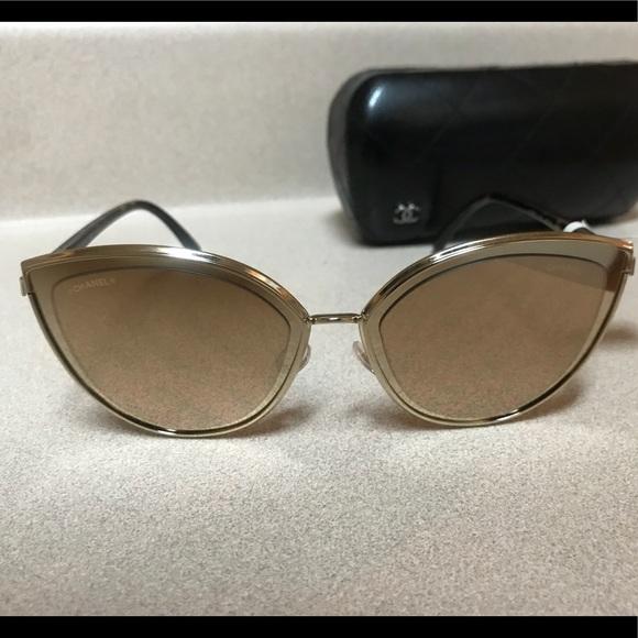 b5f2728f53 Chanel 4222 C395 T6 18k Gold Women s Sunglasses